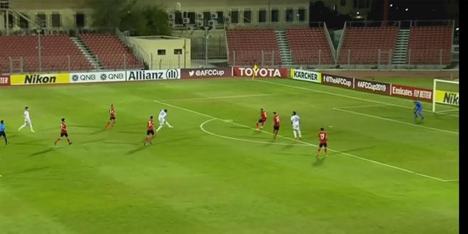 فريق الجيش يحقق فوزا عريضا على الجزيرة الأردني في كأس الاتحاد الآسيوي لكرة القدم