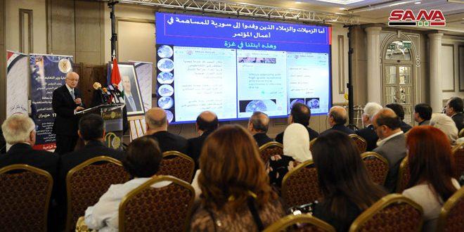 مشاركة علمية وبحثية واسعة و20 محاضرة تخصصية في المؤتمر السوري الأول لعلم الأمراض الجيني الجزيئي