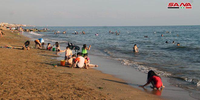 طرطوس.. وضع مخيم الكرنك في شاطئ الأحلام بالخدمة