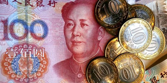 روسيا والصين تتخليان عن الدولار في تبادلاتهما التجارية