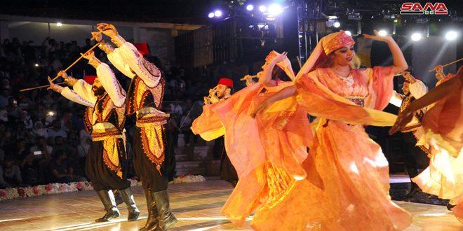 (صور) من افتتاح مهرجان الشام بتجمعنا