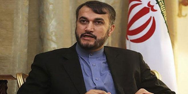 عبداللهيان: الولايات المتحدة عاجزة عن فرض حرب على إيران