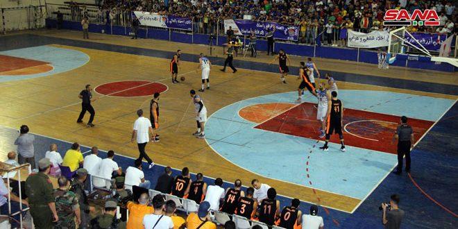 فريق الجلاء يتأهل إلى الدور النهائي بدوري كرة السلة للرجال
