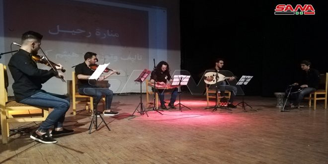 أمسية موسيقية غنائية لفرقة أوج بثقافي السويداء