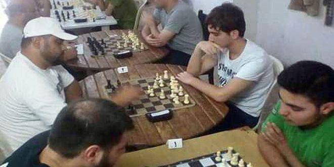 محمد بلال يفوز ببطولة اللاذقية للشطرنج