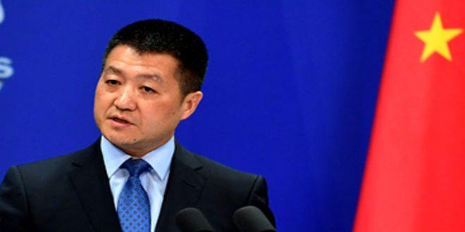 الصين تدعو الولايات المتحدة لإيقاف التدخل في شؤونها الداخلية