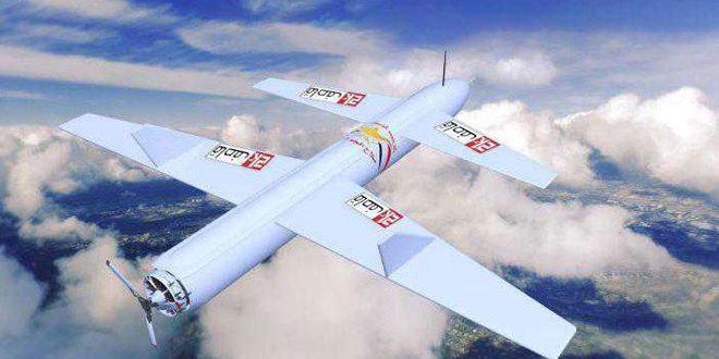 سلاح الجو اليمني المسير يستهدف مطار جيزان السعودي
