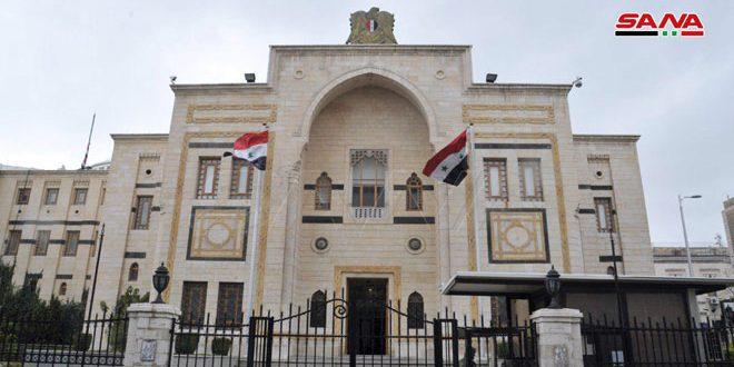 صباغ يؤكد في برقيتي تهنئة لماتفيينكو وفولودين الحرص على تعزيز العلاقات البرلمانية بين سورية وروسيا