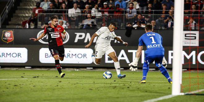 رين يفاجئ باريس سان جيرمان بفوز مستحق