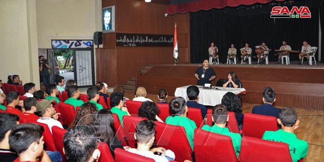 120 طالبا وطالبة من مختلف المحافظات في الملتقى العلمي لفرق الأولمبياد العلمي السوري-فيديو