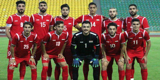 منتخب سورية الأولمبي يبدأ معسكرا تدريبياً داخلياً تحضيرا للنهائيات الآسيوية
