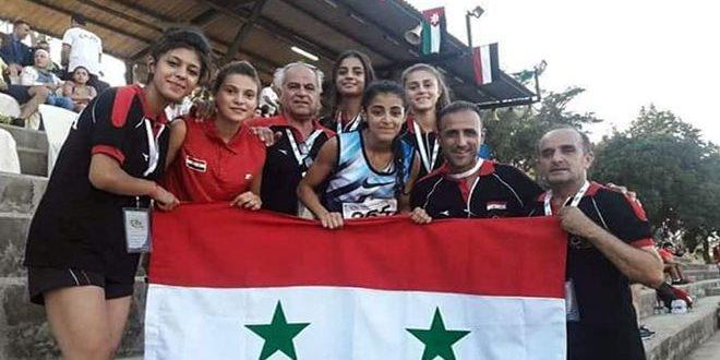 منتخب سورية لألعاب القوى للناشئين يرفع رصيده إلى 6 ميداليات ببطولة غرب آسيا