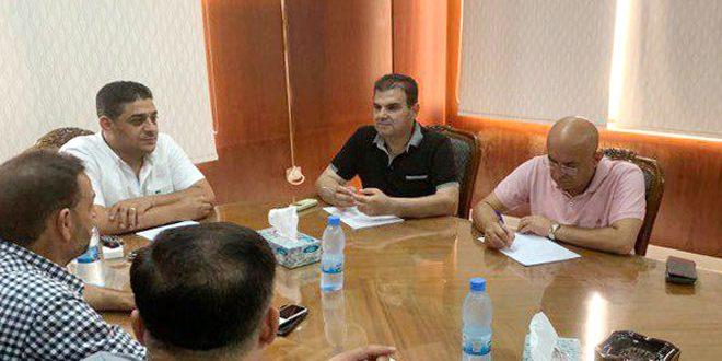 الاستعداد لموسم الحمضيات وتسويق زيت الزيتون في اجتماع اللجنة المركزية للتصدير