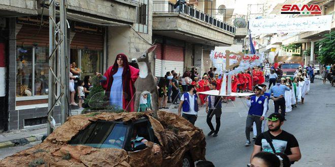 انطلاق فعاليات مهرجان صيدنايا السياحي بدورته الثانية