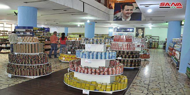 السورية للتجارة بحلب واللاذقية.. استقرار في الأسعار ووفرة بالمواد