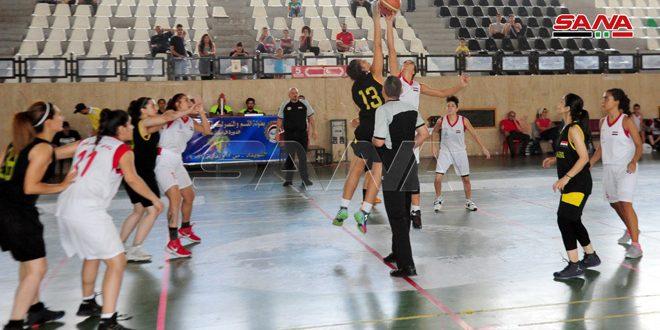 فوز الأشرفية والحرية في بطولة القسم والنصر بكرة السلة للسيدات