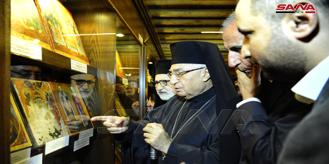 افتتاح متحف كنيسة آجيا صوفيا في صيدنايا