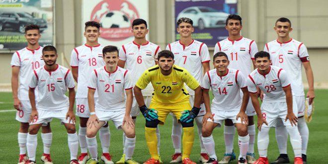 منتخب سورية للناشئين يلتقي نظيره السعودي اليوم في تصفيات كأس آسيا بكرة القدم