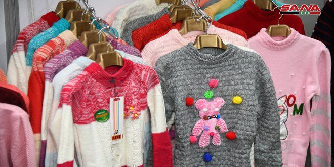الألبسة الجاهزة السورية.. خيارات واسعة للمستهلكين تغني عن الاستيراد