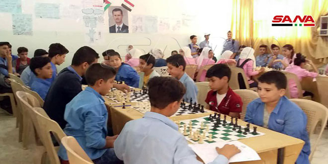 اختتام بطولة الشطرنج الفرعية في دير الزور