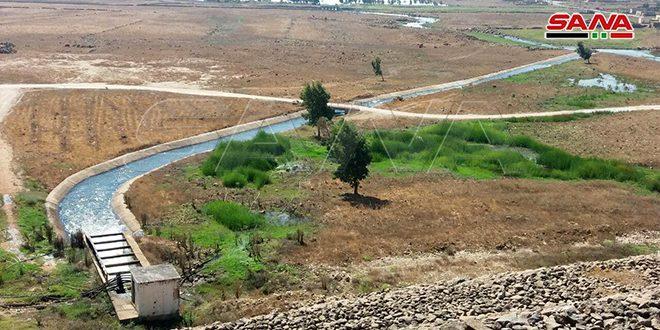 تزويد مزارعي درعا بالمياه من سدود القنيطرة