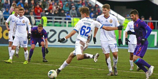 تسيسكا موسكو يتعادل مع أوفا في الدوري الروسي