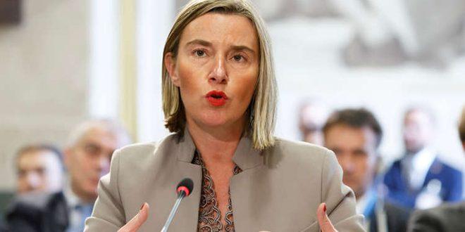 موغيريني تجدد انتقادها العدوان التركي على الأراضي السورية