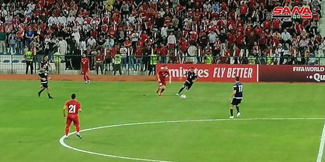 فوز منتخب سورية على منتخب غوام بالتصفيات المزدوجة لنهائيات آسيا وكأس العالم