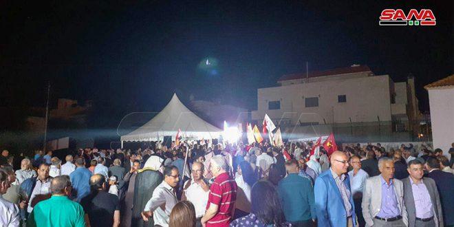 أحزاب أردنية تعبر عن تضامنها مع سورية في مواجهة العدوان التركي