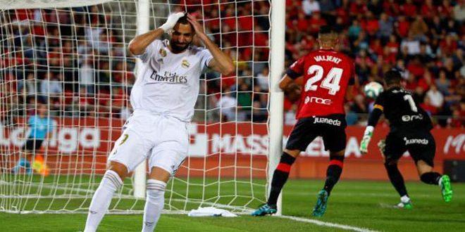 مايوركا يحقق فوزا مفاجئا على ريال مدريد