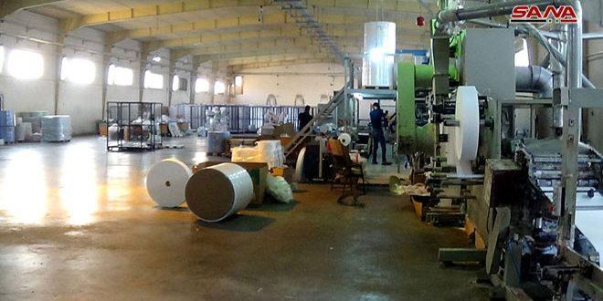 35 منشأة صناعية تدخل حيز الإنتاج في ريف دمشق خلال ثلاثة أشهر
