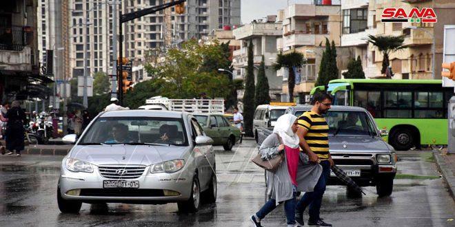 أمطار في عدد من المحافظات أغزرها 24 مم بريف دمشق