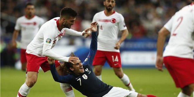 فرنسا تهدر فرصة للتأهل لبطولة أوروبا 2020 لكرة القدم