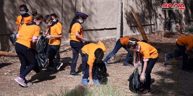 مبادرات مدرسية لترسيخ ثقافة النظافة