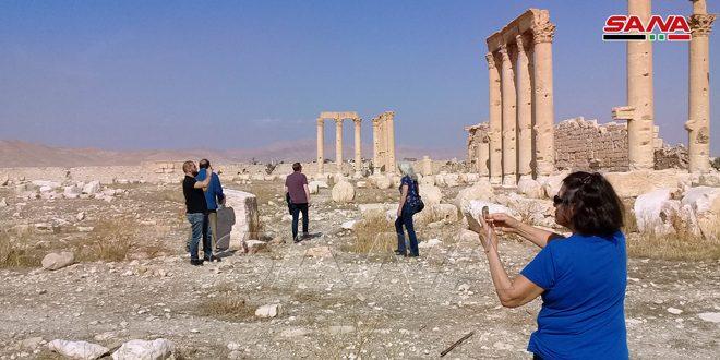 صحيفة روسية: تدفق السياح إلى سورية يستعيد عافيته