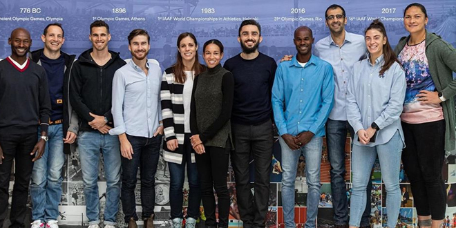 غزال عضواً في لجنة الرياضيين بالاتحاد الدولي لألعاب القوى