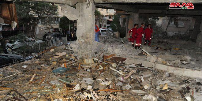 إدانات لبنانية للعدوان الإسرائيلي في منطقة المزة بدمشق