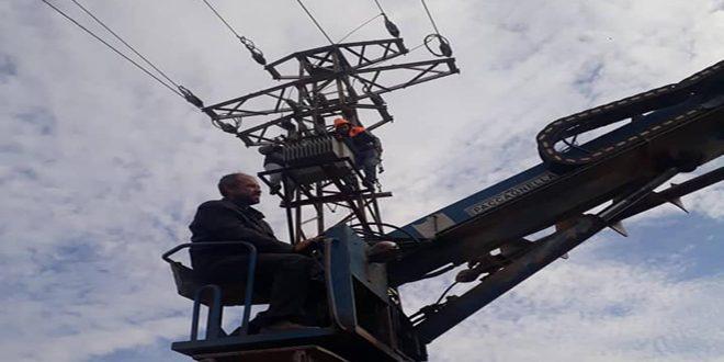 كهرباء الحسكة: زيادة ساعات التقنين نتيجة خروج محطة مبروكة عن الخدمة وزيادة الحمولات