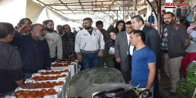 وسائل النقل مجانية لدعم مزارعي الحمضيات في طرطوس