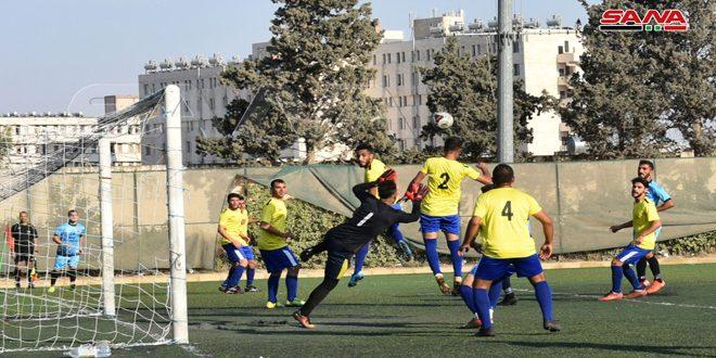 فوز عمال حماة على قمحانة في دوري الدرجة الأولى بكرة القدم