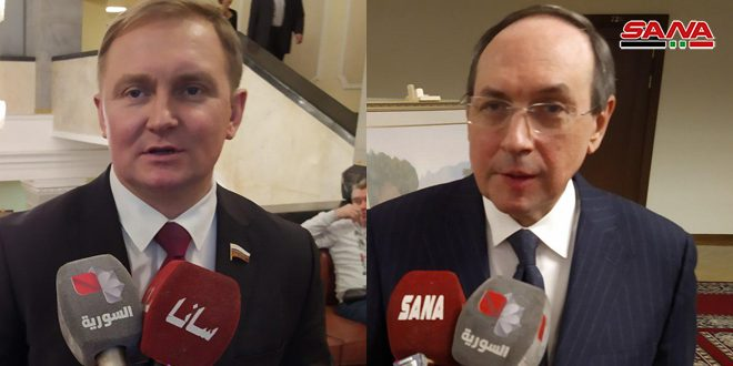 برلمانيان روسيان: سرقة النفط هي هدف الوجود الأميركي في سورية