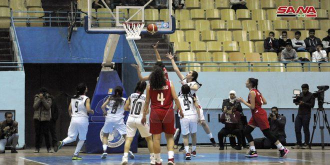 منتخب سورية لكرة السلة للسيدات تحت 16 عاماً يفتتح بطولة غرب آسيا بالفوز على نظيره العراقي