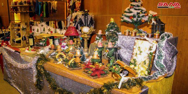 (نجمة بيت لحم)… معرض لمنتجات يدوية في كائدرائية النبي الياس بحلب