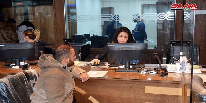 إطلاق ثلاث خدمات جديدة في مركز خدمة المواطن الرئيسي باللاذقية