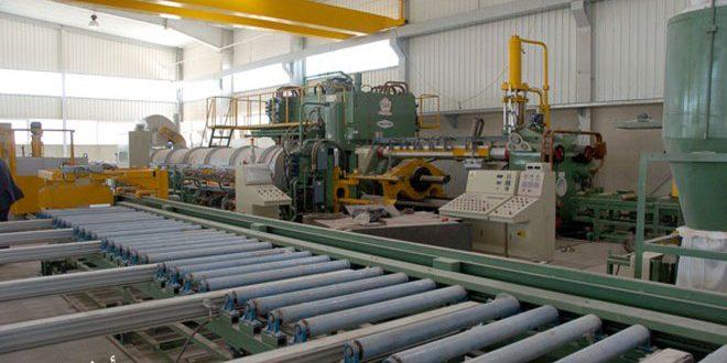 أكثر من 4 آلاف منشأة صناعية وحرفية عادت إلى الإنتاج في حمص