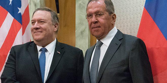 لافروف: ضرورة القضاء على الإرهاب في سورية وإيجاد حل للأزمة فيها