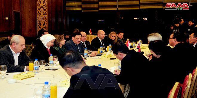 بدء أعمال اللجنة الاقتصادية المشتركة السورية الكورية الديمقراطية في دمشق-فيديو
