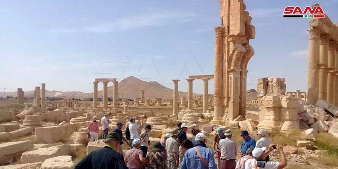 في تقرير موسع حول حضارتها وعراقتها… موقع تشيكي يصف مدينة تدمر بجوهرة الصحراء