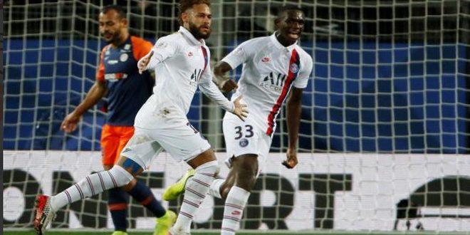 سان جيرمان يفوز على مونبلييه في دوري الدرجة الأولى الفرنسي