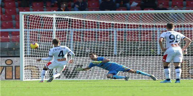 ليتشي وجنوة يتعادلان في الدوري الإيطالي لكرة القدم